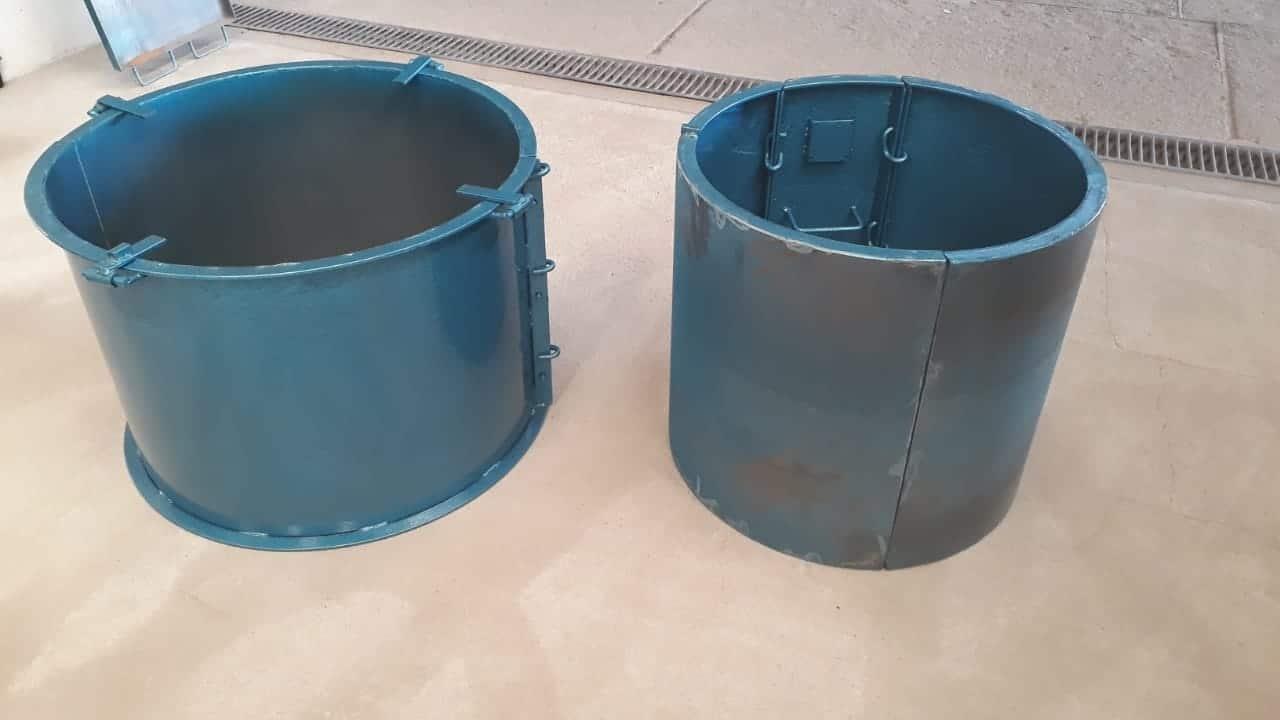 Forma Metálica para Anel de Poço - Foto 7