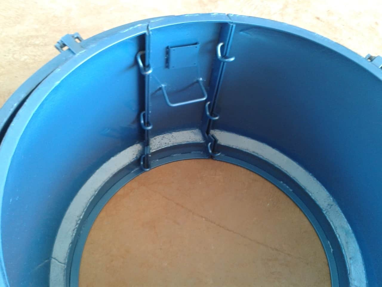 Forma Metálica para Anel de Poço - Foto 9