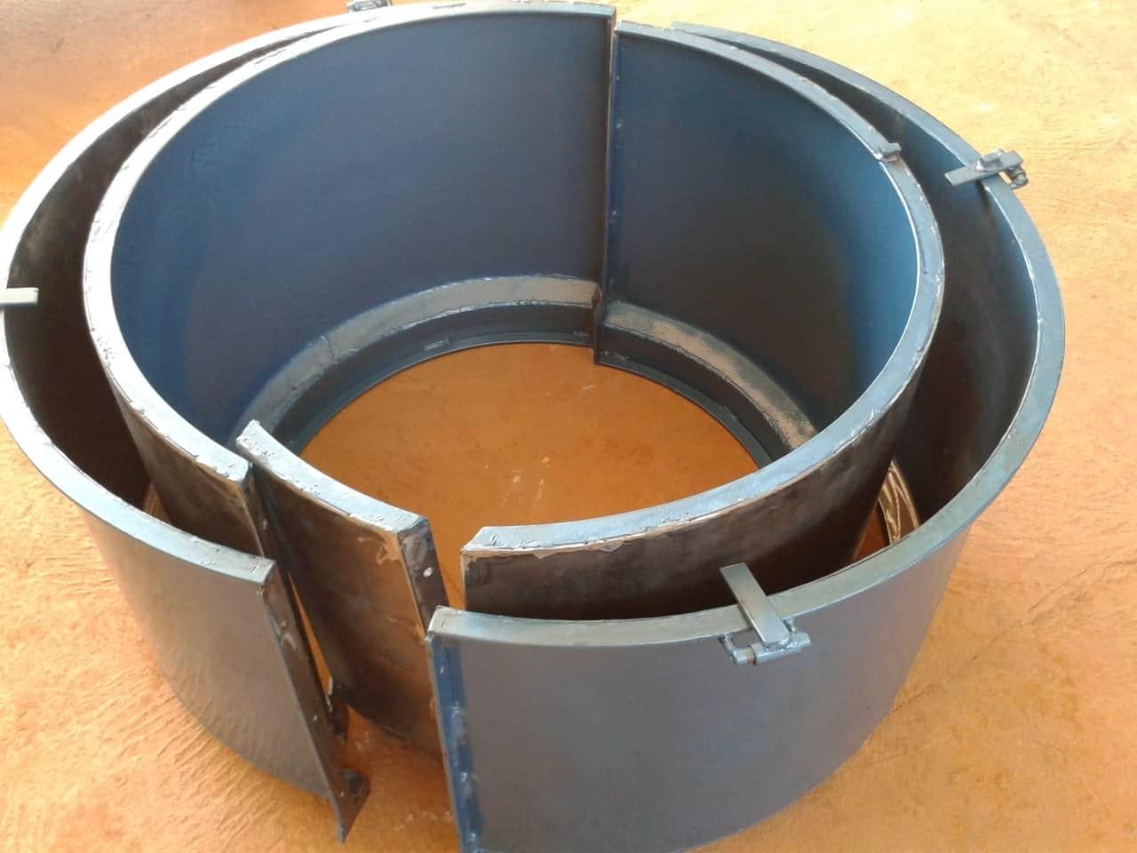Forma Metálica para Anel de Poço - Foto 10