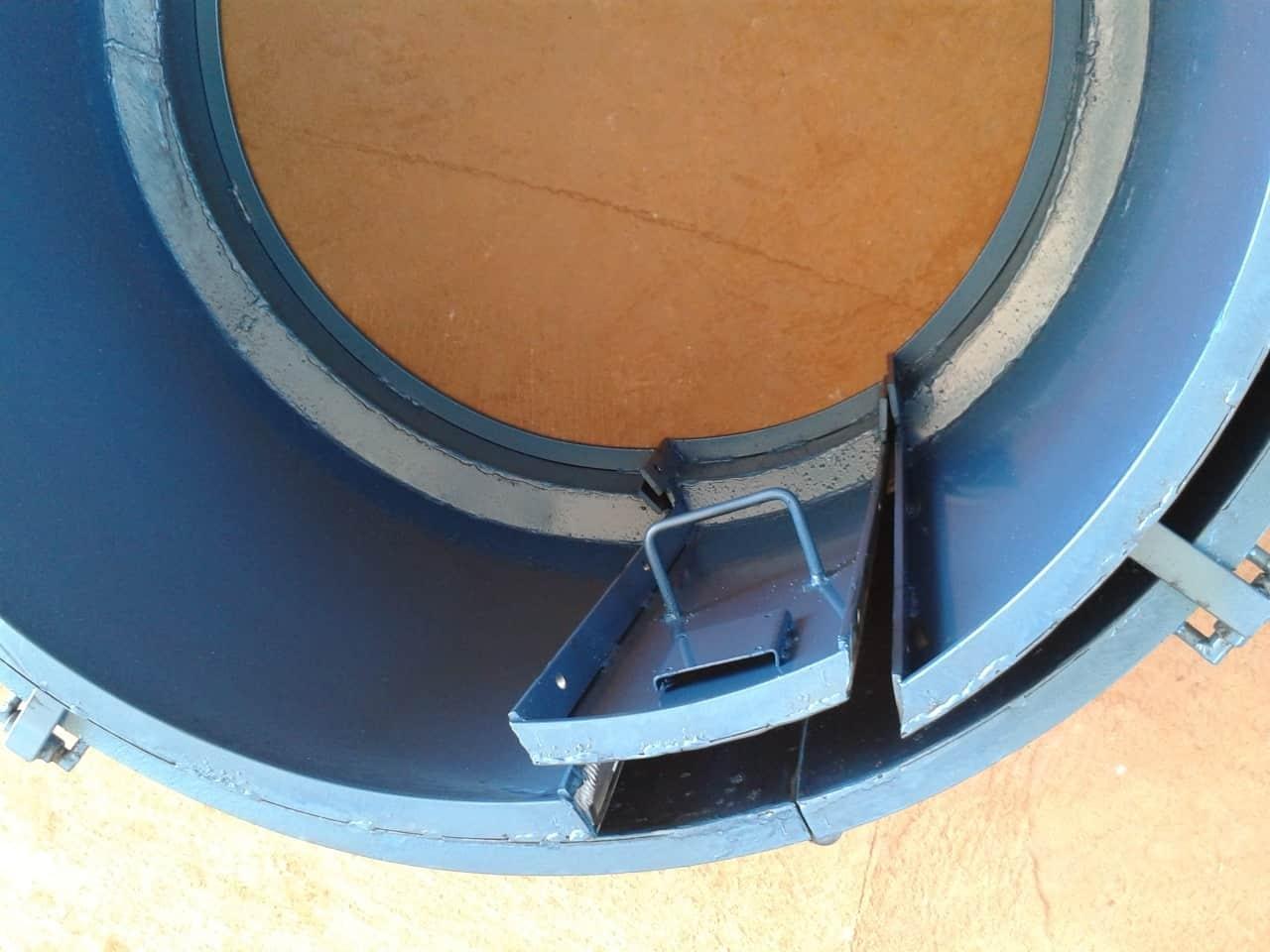 Forma Metálica para Anel de Poço - Foto 12