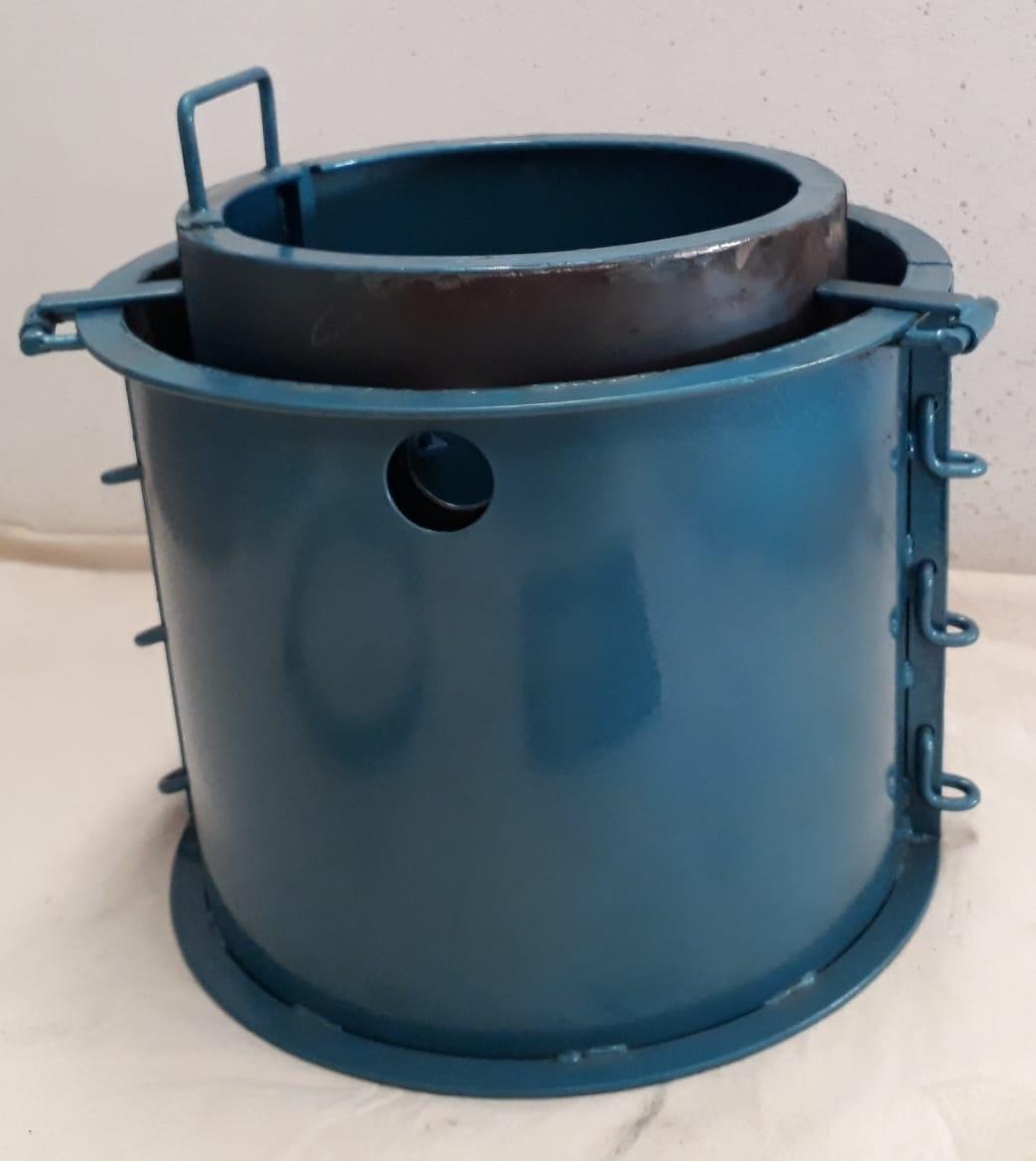Forma Metálica para Caixa de Gordura - Foto 7