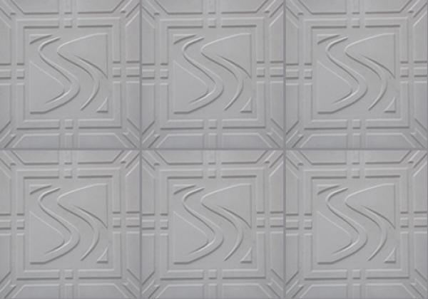 Forma Pástica Quadrada Trabalhada em S - Foto 3