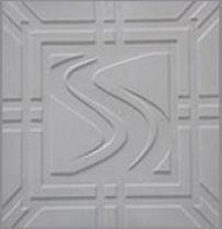 Forma Pástica Quadrada Trabalhada em S - Foto 2
