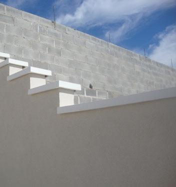 Forma Plástica Capa de Muro Reta - Pingadeira - Foto 3