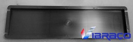 Forma Plástica Capa de Muro Reta - Pingadeira - Foto 1