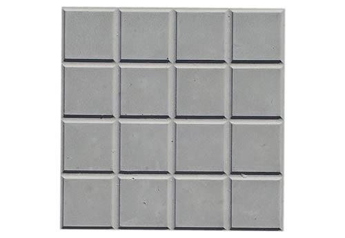 Forma Plástica Ladrilho Xadrez 16 Quadros - Foto 2