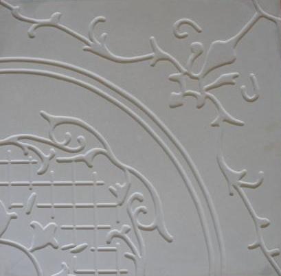 Forma Plástica Quadrada Decorada Flor - Foto 2
