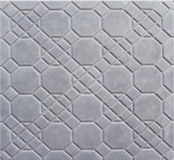 Forma Plástica Quadrada Decorada Tipo Favo - Foto 2