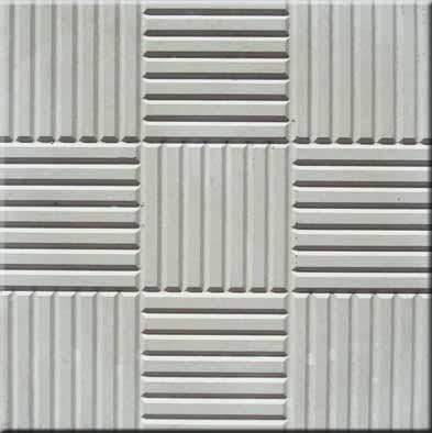 Forma Plástica Quadrada Estriada 9 Quadros - Foto 2