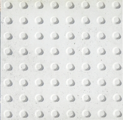 Forma Plástica Quadrada Guia Bola Defic Visual - Foto 2