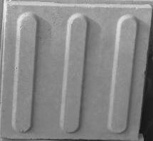 Forma Plástica Quadrada Guia Reta p/ Defic Visual - Foto 2