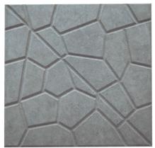 Forma Plástica Quadrada Ladrilho Caquinho - Foto 2