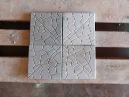 Forma Plástica Quadrada Ladrilho Caquinho - Foto 3