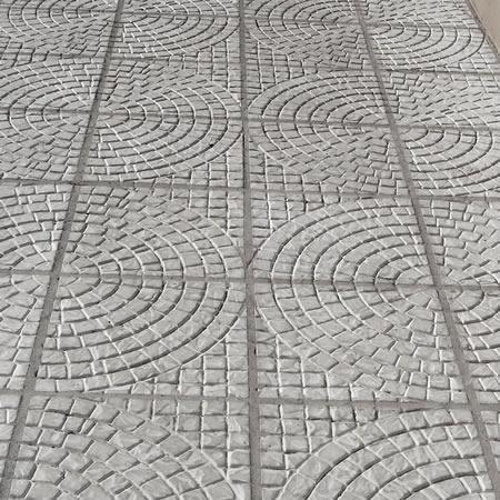 Forma Plástica Quadrada Trabalhada Rústica - Foto 5