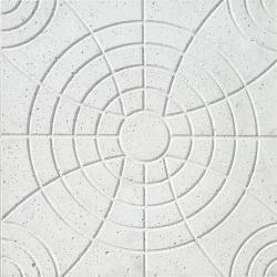 Forma Plástica Quadrada Trabalhada Flor - Foto 2