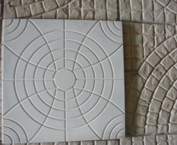 Forma Plástica Quadrada Trabalhada Flor - Foto 3