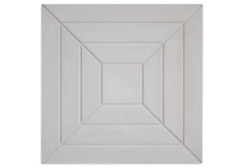 Forma Plástica Quadrada Trabalhada Pirâmide - Foto 2