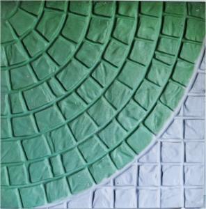 Forma Plástica Quadrada Trabalhada Rústica - Foto 2