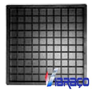 Forma Plástica Quadrada Xadrez 100 Quadros - Foto 1