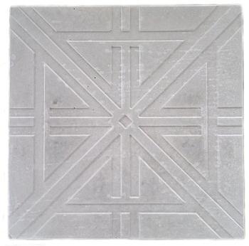 Forma Plástica Quadrada em X - Foto 2