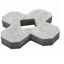 Forma Plástica para Concregrama X 4 Pontas - Foto 2