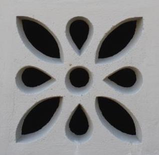 Forma Plástica para Elemento Vazado Flor - Foto 2