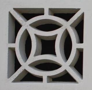 Forma Plástica para Elemento Vazado 4 Pontas - Foto 2