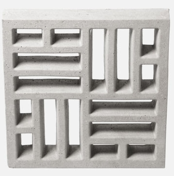 Forma Plástica para Elemento Vazado Taco Chinês - Foto 2