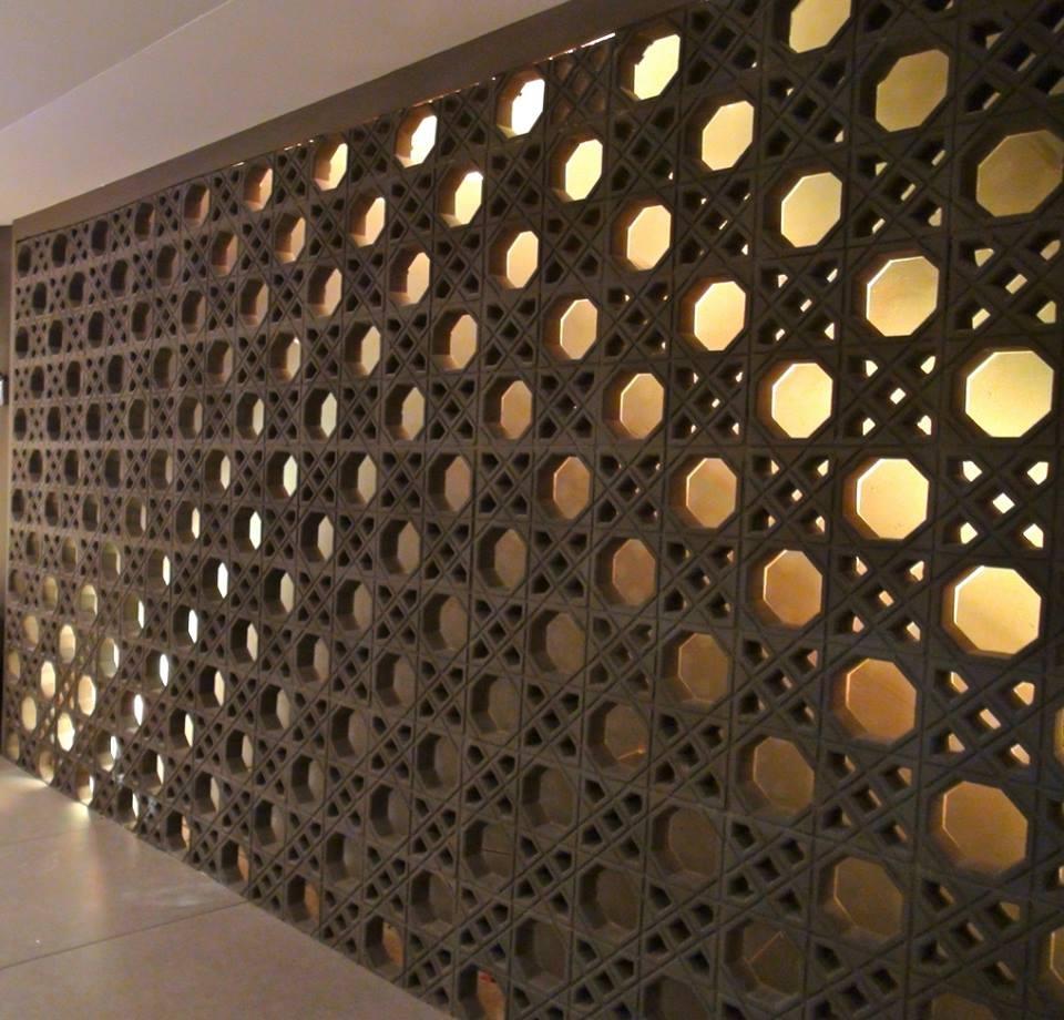 Forma Plástica para Elemento Vazado Estilo Árabe - Foto 4