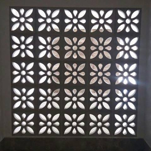 Forma Plástica para Elemento Vazado Flor - Foto 4