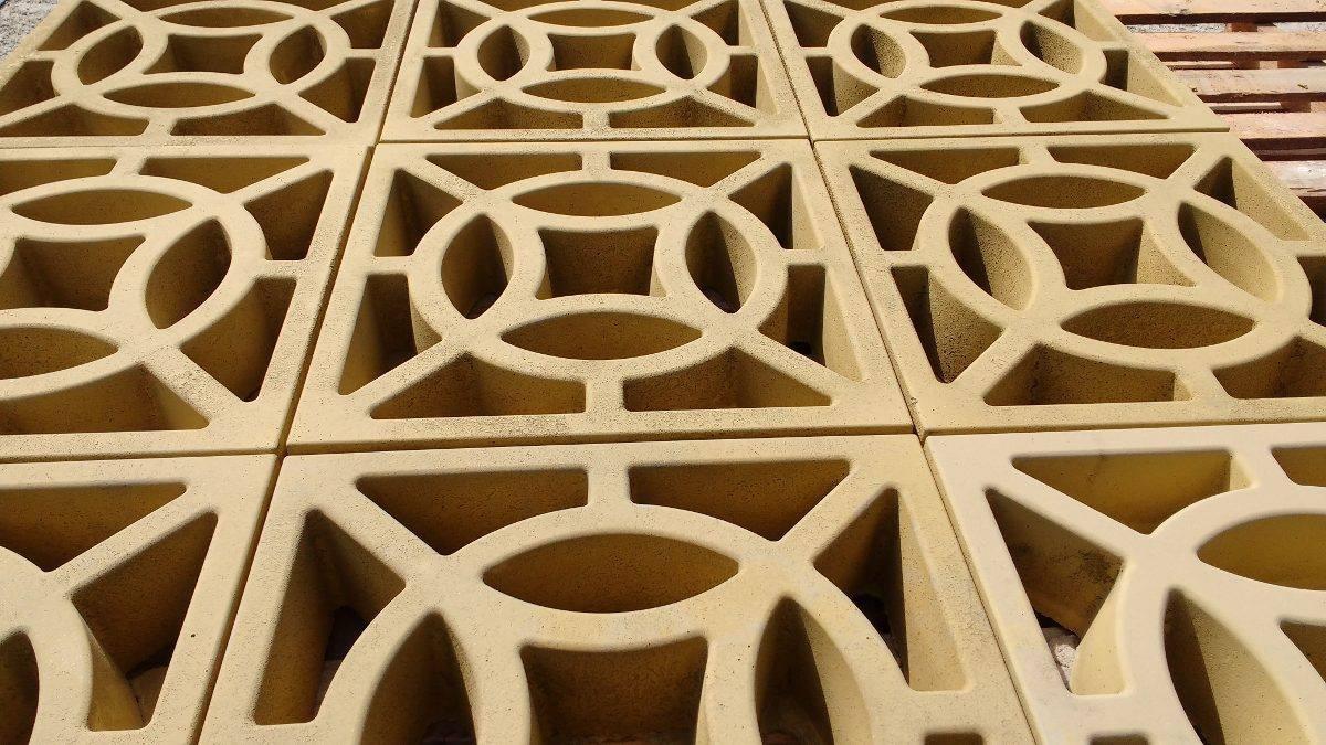 Forma Plástica para Elemento Vazado 4 Pontas - Foto 9