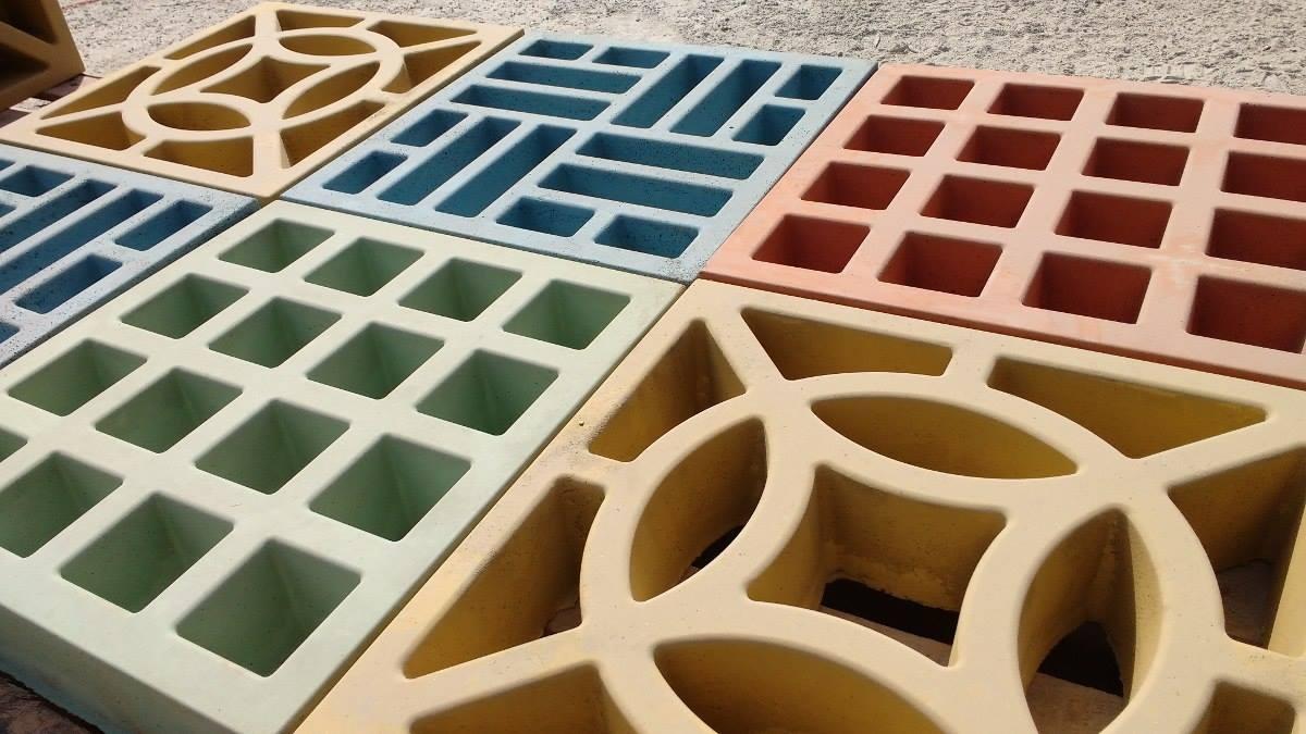 Forma Plástica para Elemento Vazado Composé - Foto 3