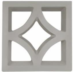 Forma Plástica para Elemento Vazado Arabela - Foto 2