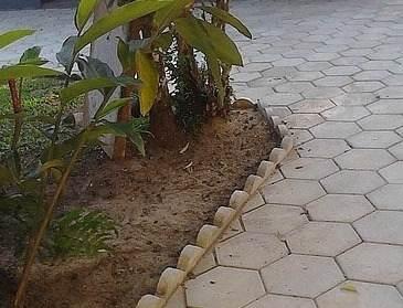 Forma Plástica para Guia de Jardim - Foto 5
