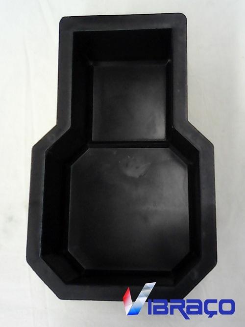 Forma Plástica para Piso Decor/Raquete - Foto 1