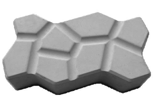 Forma Plástica para Piso Paviess Trabalhada - Foto 2