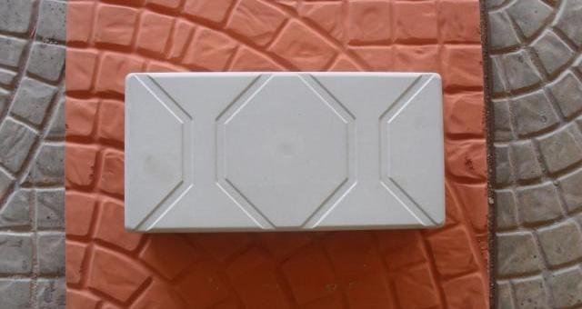 Forma Plástica para Piso Retangular Estriada - Foto 3