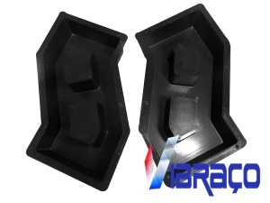 Forma Plástica para Pisograma em ''S'' - Foto 1