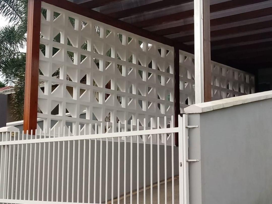 Forma Plástica para Elemento Vazado Triângulo - Foto 7