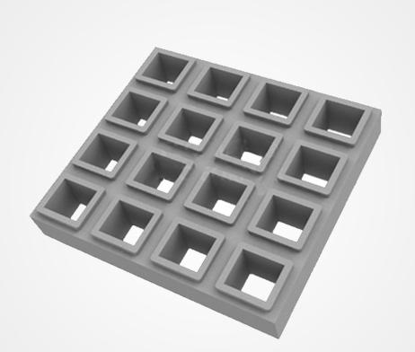 Forma Plástica para Elemento Vazado ou Combugol - Foto 2