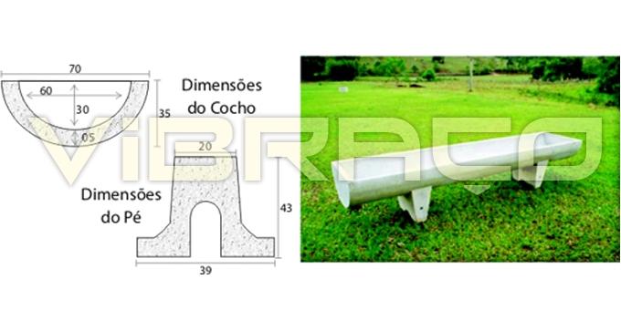 Forma para Fabricação de Cocho Volumoso - Foto 6