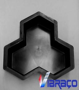 Forms Plástica para Piso Três Pontas - Foto 1