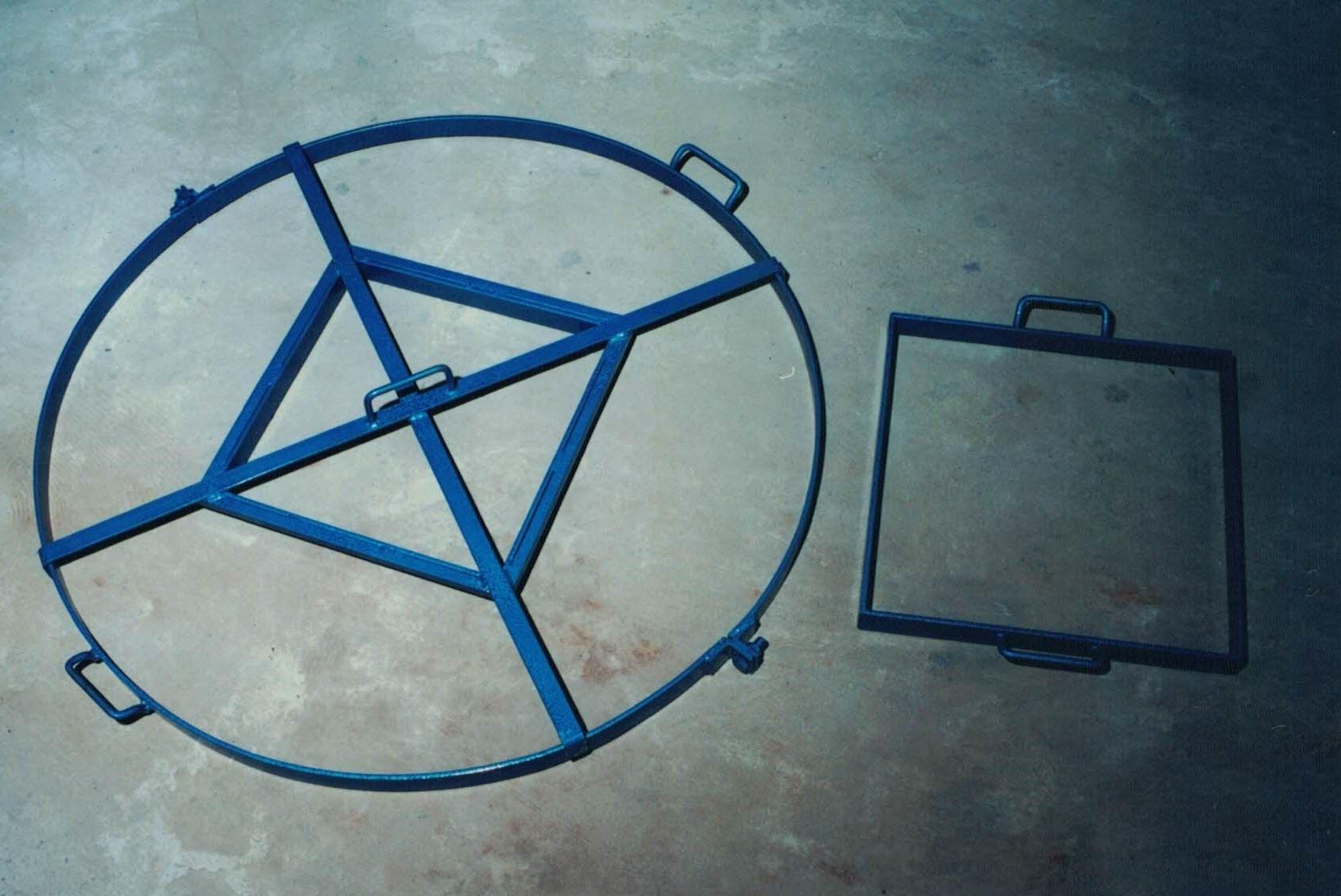 Kit para tampa e Aro de anel de poço - Foto 2