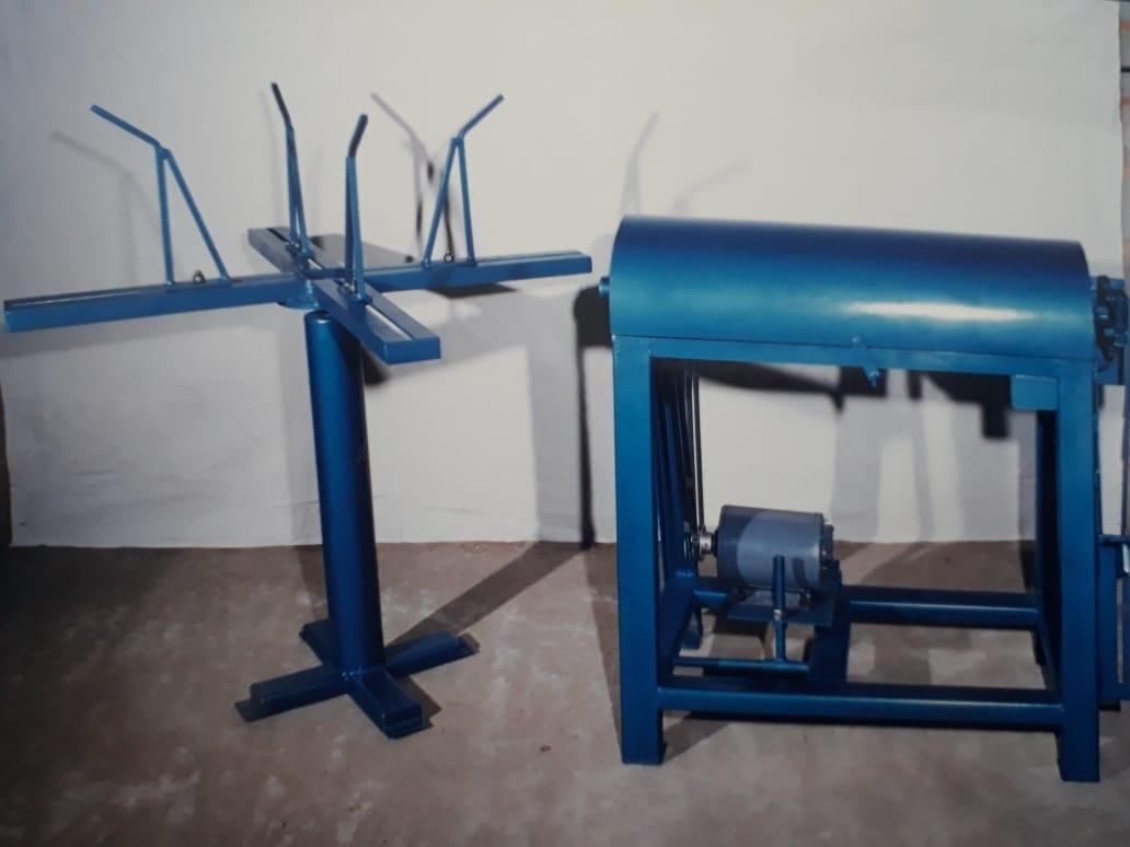 Máquina de Desbobinar, Endireitar e Cortar Ferros - Foto 1