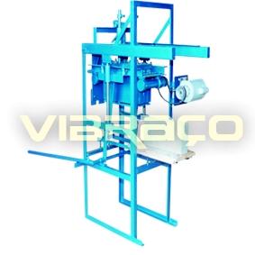 Máquina para Fabricação de Blocos V500 - Foto 1