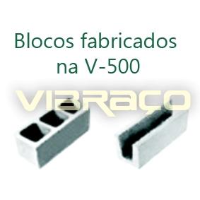 Máquina para Fabricação de Blocos V500 - Foto 2