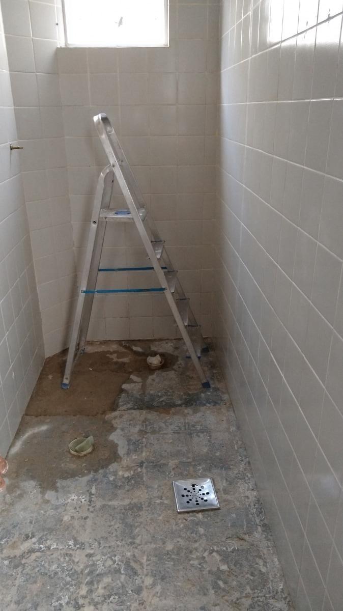 Substituição do piso