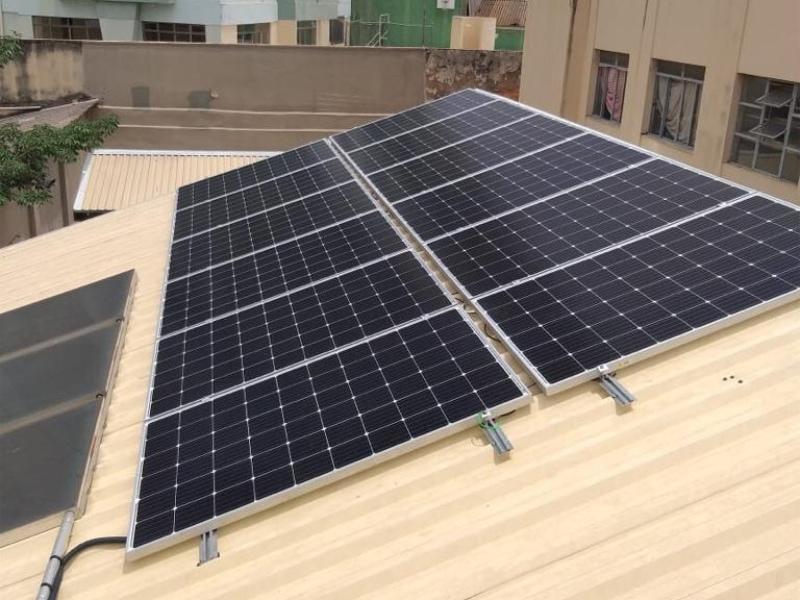 Gerador 3,6 kWp bairro Floresta BH