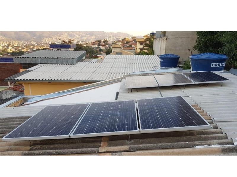 Gerador 1,6 kWp bairro Nova Vista