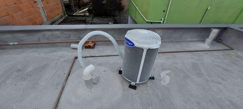 Condensadora Teto carrier